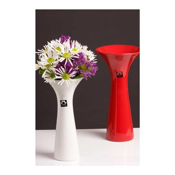 Váza Loira 26 cm, bílá