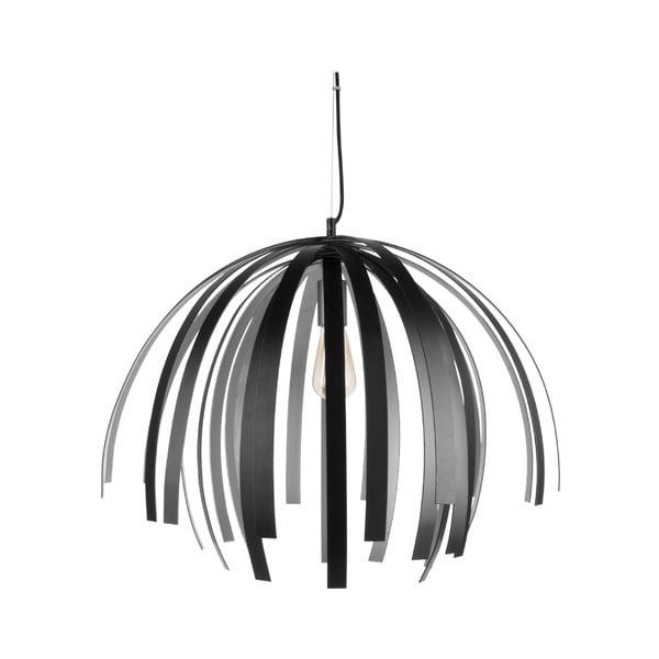 Willow Large fekete-ezüstszínű függőlámpa - Leitmotiv