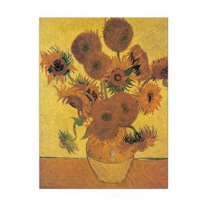 Obraz Van Gogh - Sunflowers, 80x60 cm
