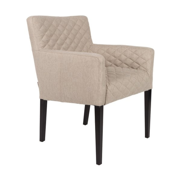 Aaron homokszínű fotel - Dutchbone