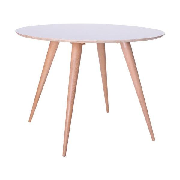 Bílý jídelní stůl Ragaba Planet Round