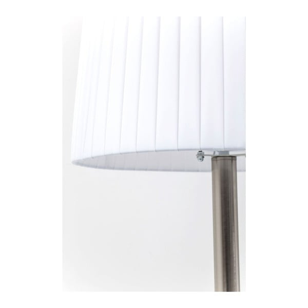 Bílá stojací lampa  Kare Design Facile Tunnel