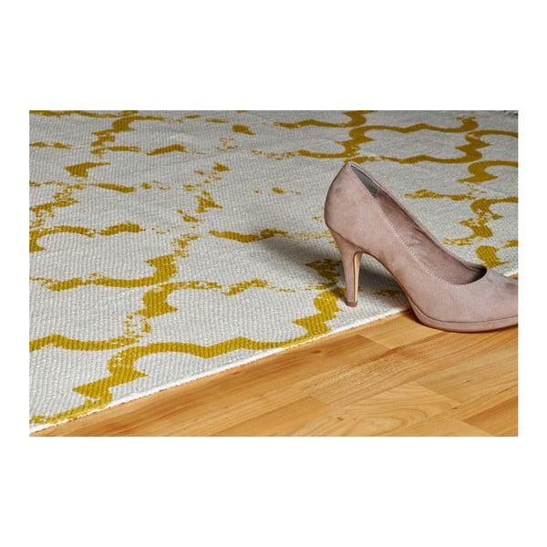 Ručně tkaný bavlněný koberec Obsession My Stockholm Must, 80 x 150 cm