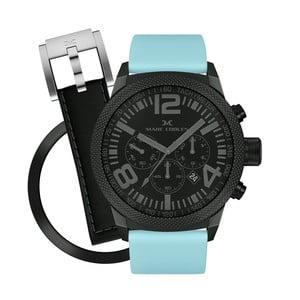 Dámské hodinky Marc Coblen s páskem a kroužkem navíc P106