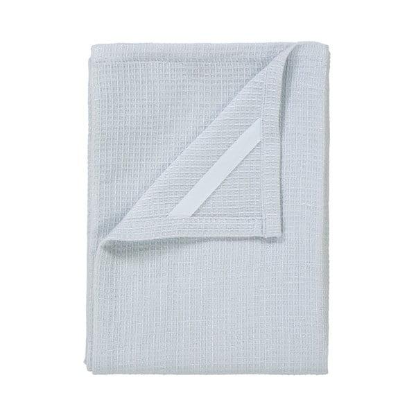 Sada 2 bielych utierok na riad zo zmesi bavlny a ľanu Blomus, 50 x 70 cm
