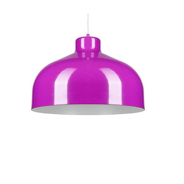 Fialové stropní světlo Loft You B&B, 22 cm
