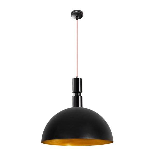 Czarna metalowa lampa wisząca Opviq lights Sylas