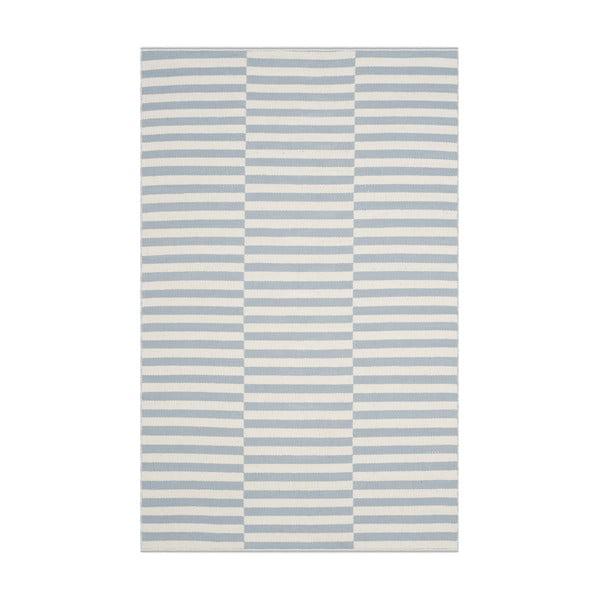 Covor bumbac Mya Blue, 121x182 cm