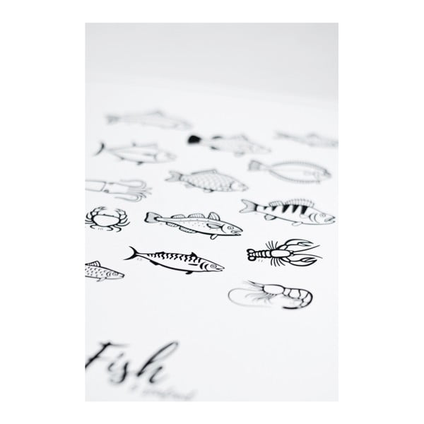 Plakát Follygraph 4 Fish & Seafood, 40x50cm