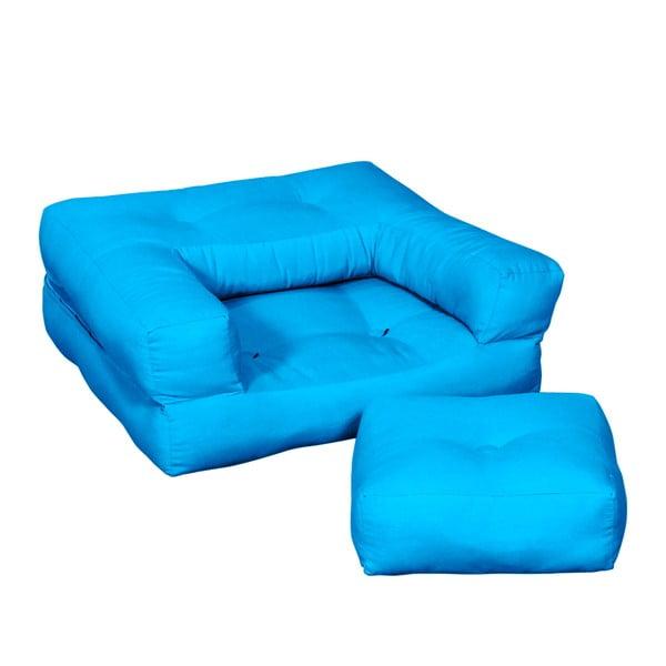 Dětské křesílko Karup Baby Cube Horizon Blue