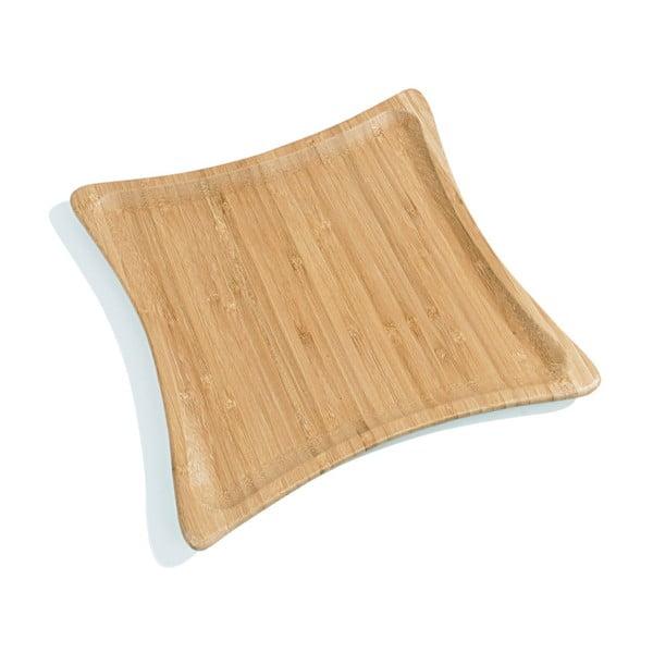 Bambusový podnos Kutahya Snacks, Ø 30 x 2,6 cm