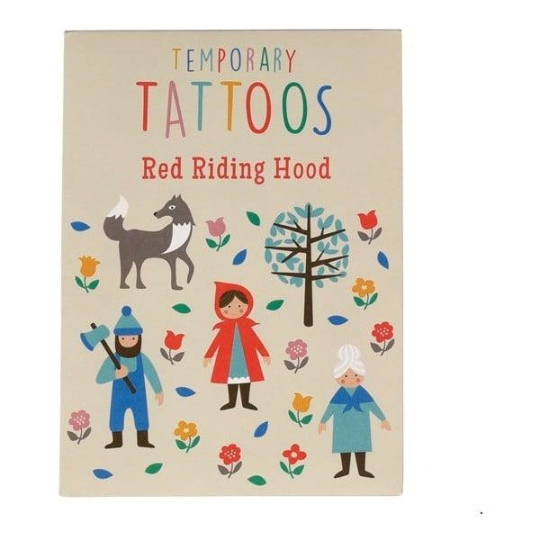 Sada dětských tetovaček Rex London Red Riding Hood