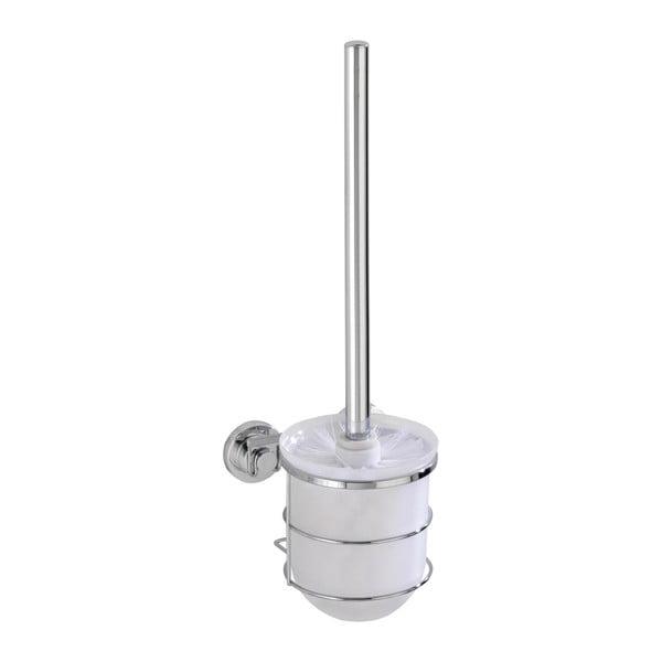 Samodržící stojan a toaletní kartáč Wenko Power-Loc Bovino