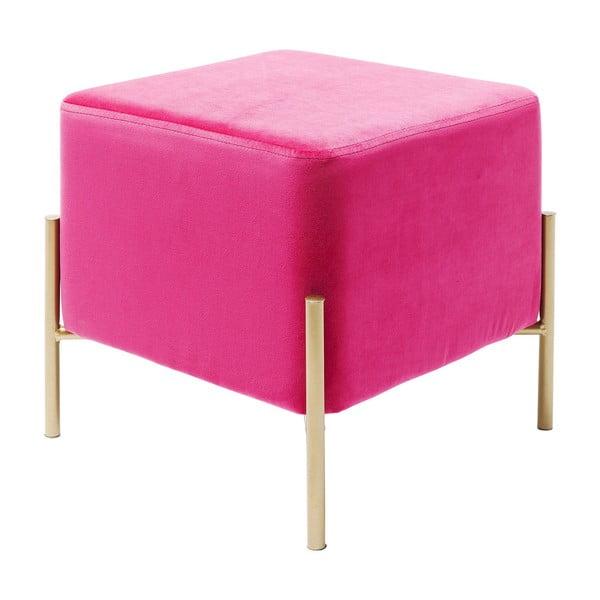 Růžová stolička Kare Design Franzi