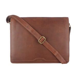 Kožená taška Darwin Brown