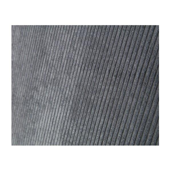 Světle šedé křeslo s opěrkami De Eekhoorn Sally