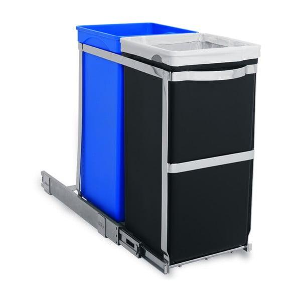 Vestavný odpadkový koš na tříděný odpad Inside 20/15 l
