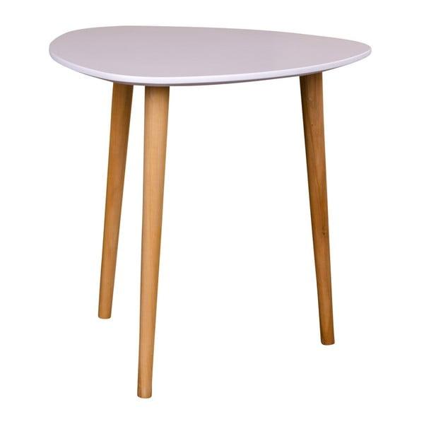 Bílý odkládací stolek House Nordic Genova, výška 47,5cm