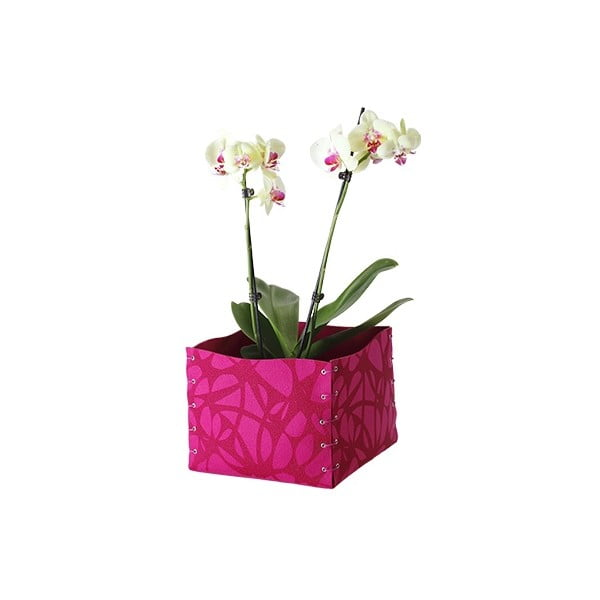 Plstěná krabička 25x10 cm, lila