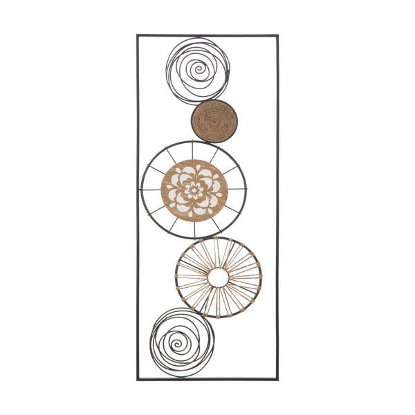 Masai B fém fali dekoráció, 35 x 90 cm - Mauro Ferretti