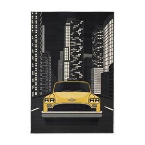 Šedý koberec Calista Rugs Salzburg Taxi, 80x150cm