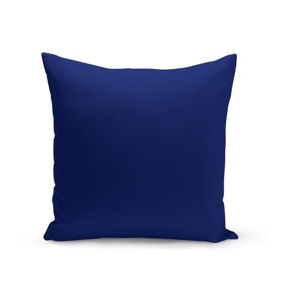Královsky modrý polštář s výplní Lisa, 43 x 43 cm