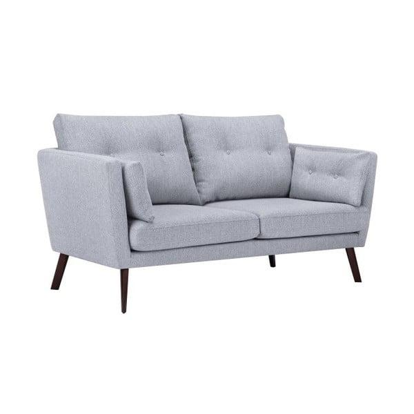 Canapea cu 2 locuri Mazzini Sofas Elena, gri deschis