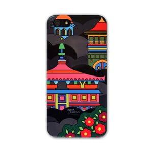 Obal na iPhone 5/5S Jalebi Namaste Black Skyline