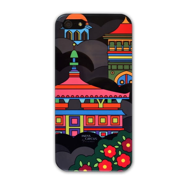 Obal na iPhone 5/5S Jalebi Namaste Black Skyline