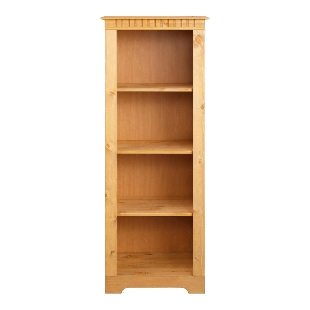 Knihovna z masivního borovicového dřeva Støraa Candice