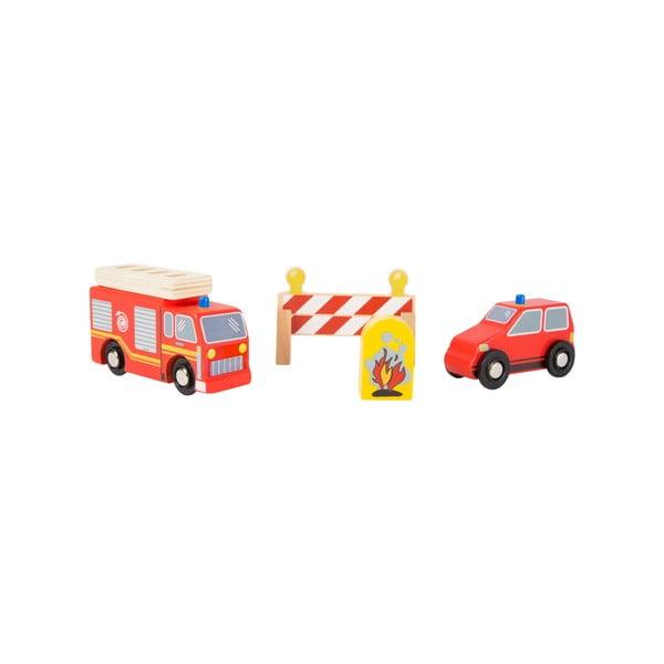 Detský drevený hasičský set Legler Fire