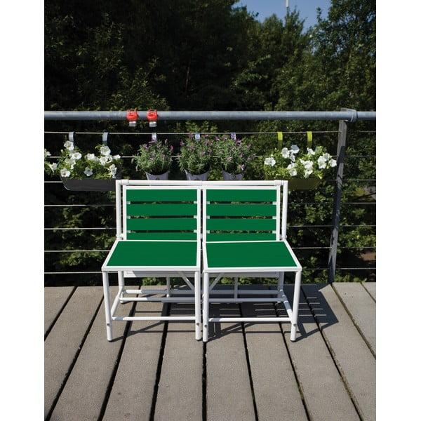 Skládací lavice Magical, zelená
