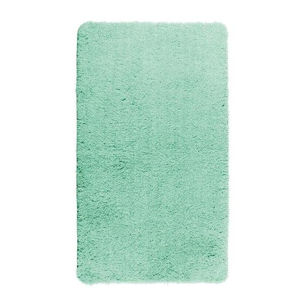 Tyrkysově modrá koupelnová předložka Wenko Belize, 55x65cm