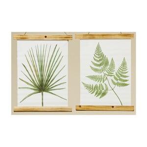 Set 2 decorațiuni de perete Boltze Botanic, 40 cm
