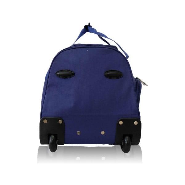 Modrá cestovní taška na kolečkách Les P'tites Bombes Goteborg,91l