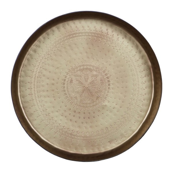 Dekorativní podnos s mosazným detailem BePureHome Waitress, Ø44cm