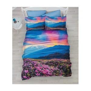 Lenjerie de pat cu cearșaf Sunrise, 200 x 220 cm