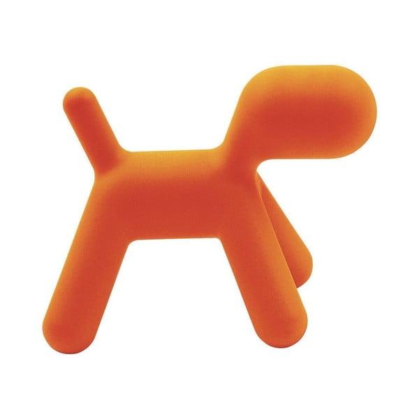 Oranžová stolička Magis Puppy, délka56 cm
