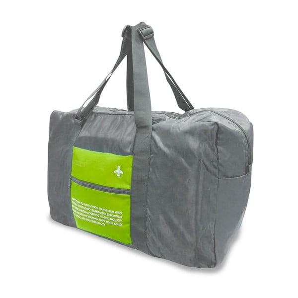 Cestovní skládací taška, Zelená