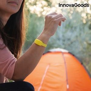 Žlutý repelentní náramek proti komárům s vůní citronely InnovaGoods