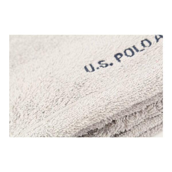Ručník US Polo Hand Towel Grey, 50x90 cm