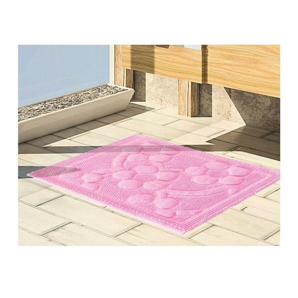 Předložka do koupelny Papatya Pink, 50x60 cm