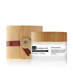 Noční hydratační pleťový krém Dr.Botanicals Ultra-Repair Overnight Regenerating Wooden Limited, 50ml