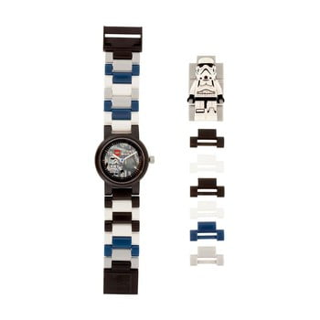 Ceas de mână LEGO® Star Wars Stormtrooper, alb - negru
