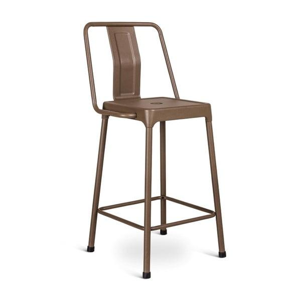 Sada 2 hnědých barových židlí Design Twist Magoye