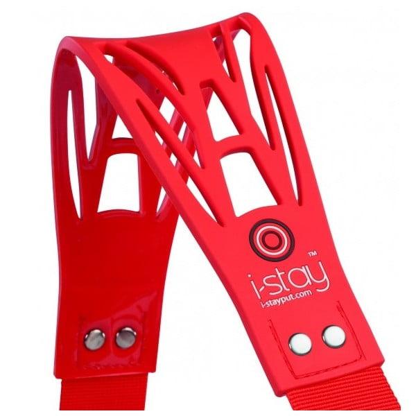 Protiskluzavý ergonomický ramenní popruh i-stay, červený