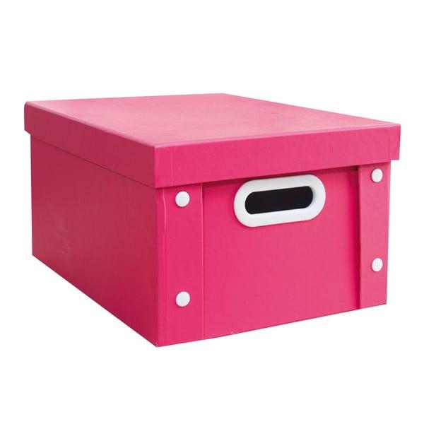 Barevný úložný box Pink