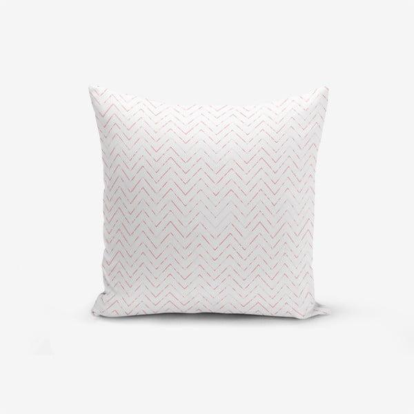 Fusya Colorful Zigzag Modern pamutkeverék párnahuzat, 45 x 45 cm - Minimalist Cushion Covers