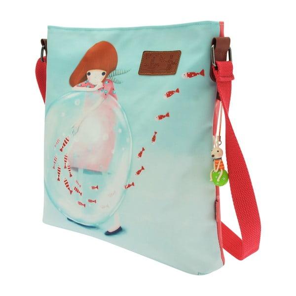 Oboustranná kabelka přes rameno Santoro London Little Fishes