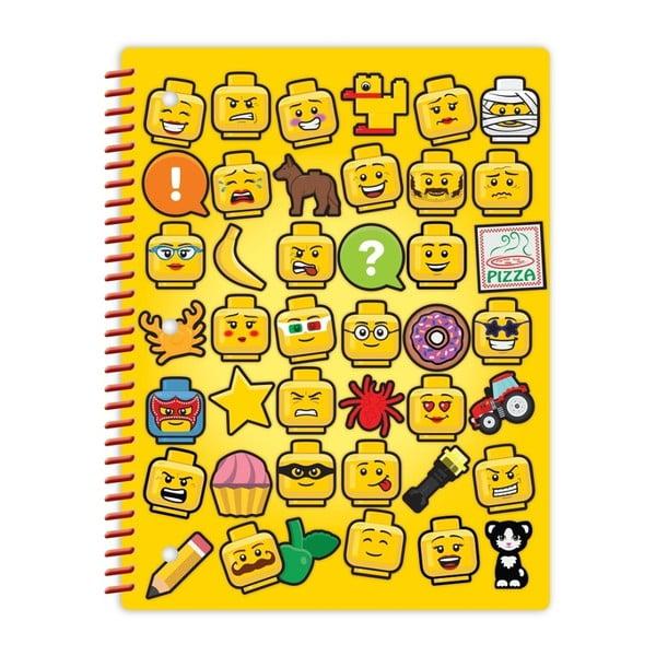 Spirálový sešit LEGO® Iconic, 70stran